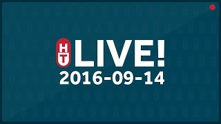 September 14, 2016 - LIVE