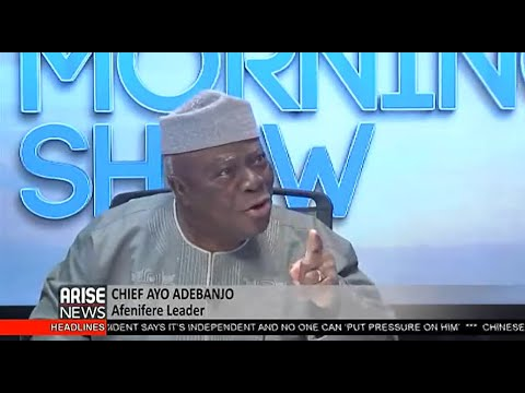 For Nigeria's Unity, South-easterner Must Be President In 2023 - Chief Ayo Adebanjo