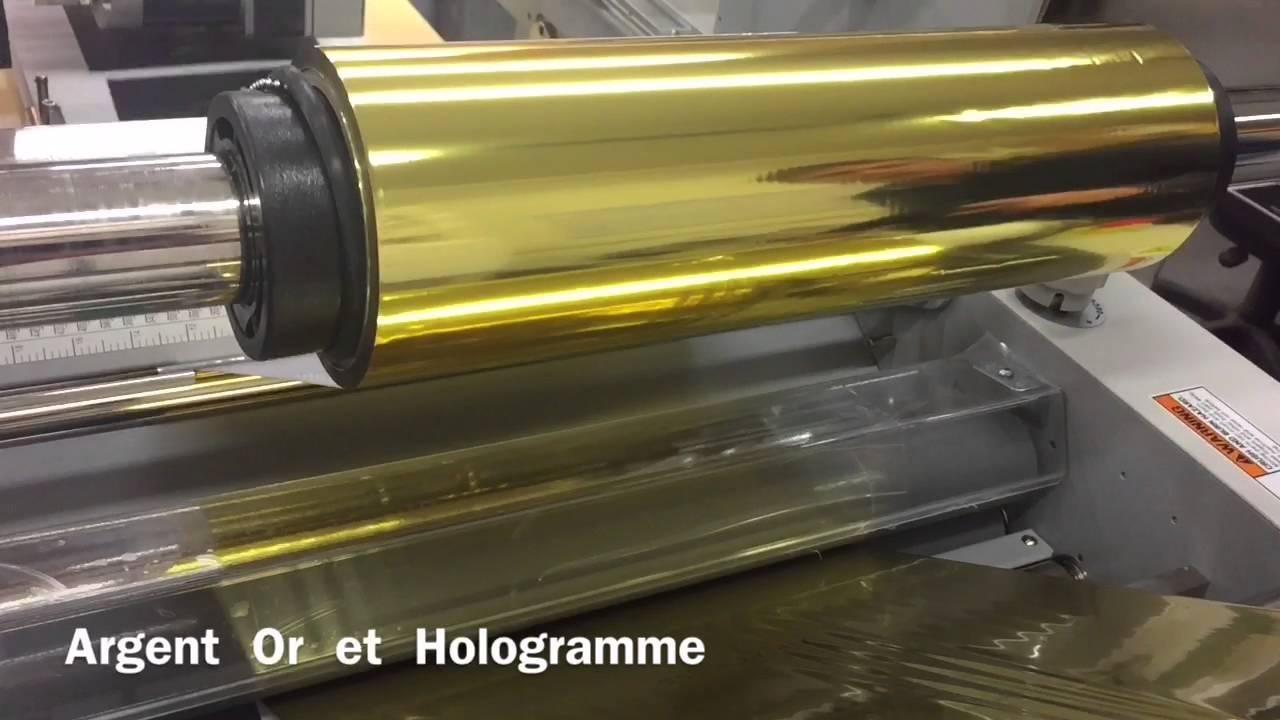 Imprimerie De L Ouest Parisien dorure à chaud numérique