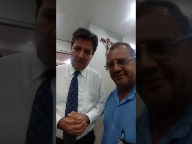 TV SINDACS - Presidente da FENASCE em reunião com o Ministro da Saúde Henrique Mandetta em Brasília