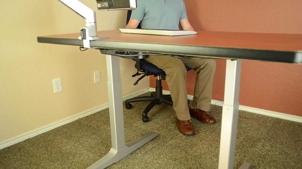 Sit Stand Desk The Best Adjustable Height Desk Sierra HXL Desk