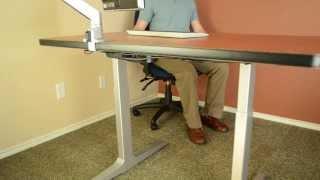 Sit Stand Desk The Best Adjustable Height Desk - Sierra Hxl Desk
