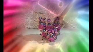 детский танец под ритмичную музыку