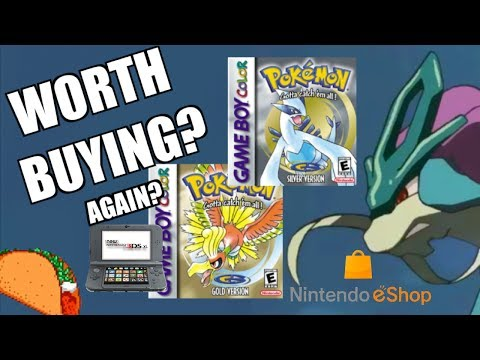 Should You Buy Pokémon Gold and Silver for 3DS Virtual Conso