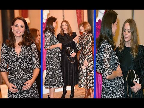 When Kate and Sophie met fashion royalty! Duchess of Cambridge dons Erdem AGAIN