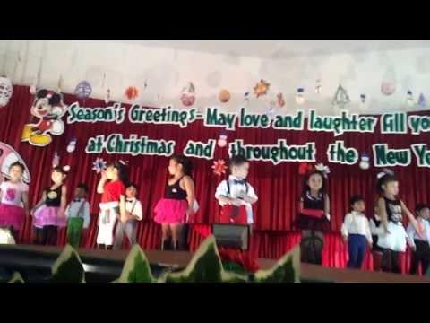 พูดภาษาอังกฤษงานคริสมาส 2013