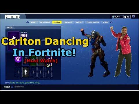 Everyone loves the carlton dance (Fortnite Battle Royale)