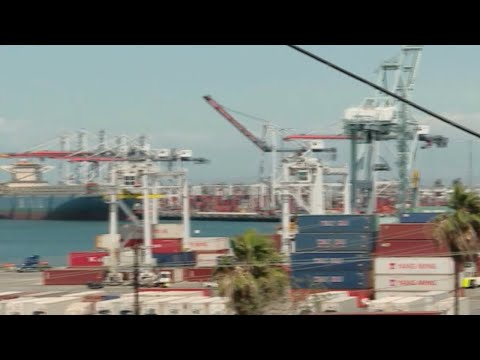 Port workers in Los Angeles could be hit hard by US-China tariffs