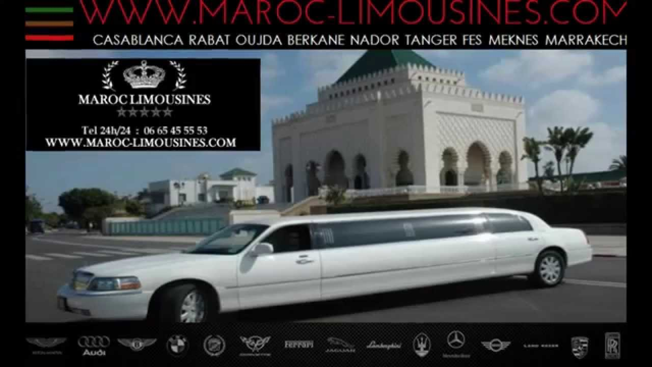 prix de location de limousine au maroc. Black Bedroom Furniture Sets. Home Design Ideas