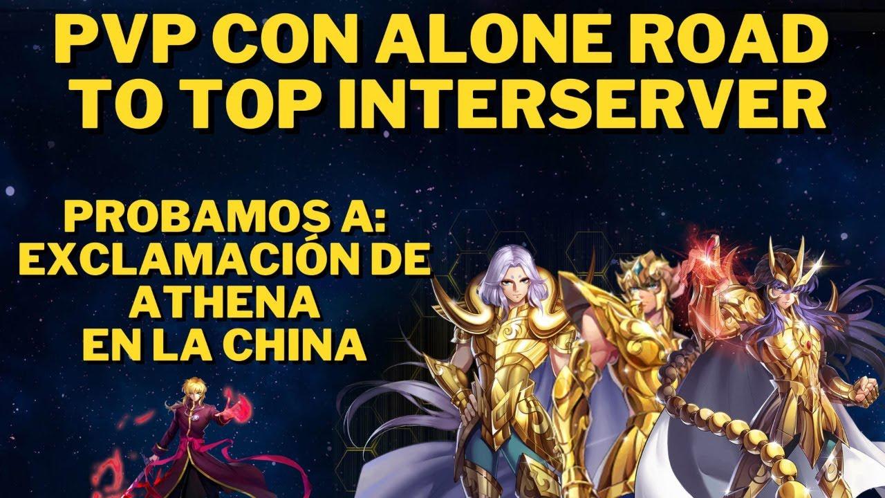 DIRECTO SABROSON: ROAD TOP INTERSERVER, PROBAMOS LA EXCLAMACION DE ATHENA