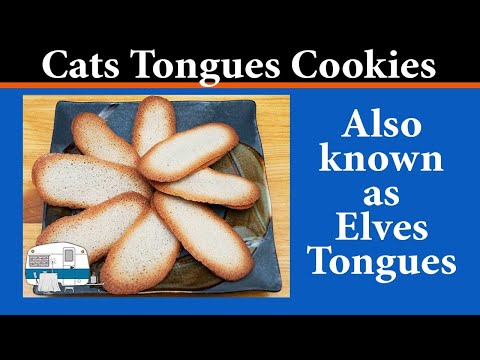 How to bake Cats Tongues Cookies