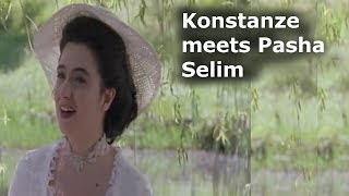 Konstanze meets Pasha Selim [German and English subtitles] Mozart's Abduction From the Seraglio