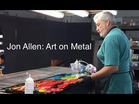Jon Allen: Metal Art - YouTube