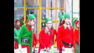 Natal da Becas - Musica e dança Duendes em greve