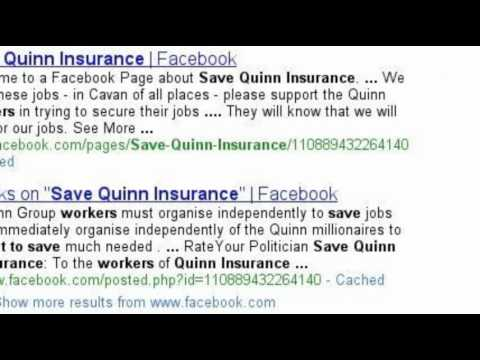 Quinn Insurance Administration Story, Concerned Policy Holders