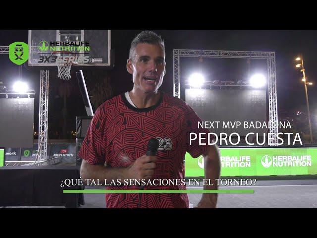 Entrevista a Pedro Cuesta del equipo Next MVP Badalona, subcampeones del Máster Final Barcelona