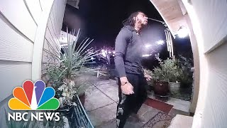 Caught On Camera: Richard Sherman Attempts To Break Into Home In Washington