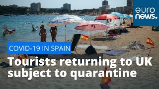 Spain cases spike: Tourists returning to UK and Norway subject to quarantine