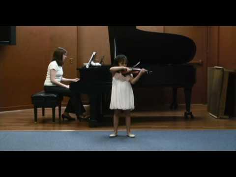 Maya Buchanan plays Kreisler Praeludium & Allegro