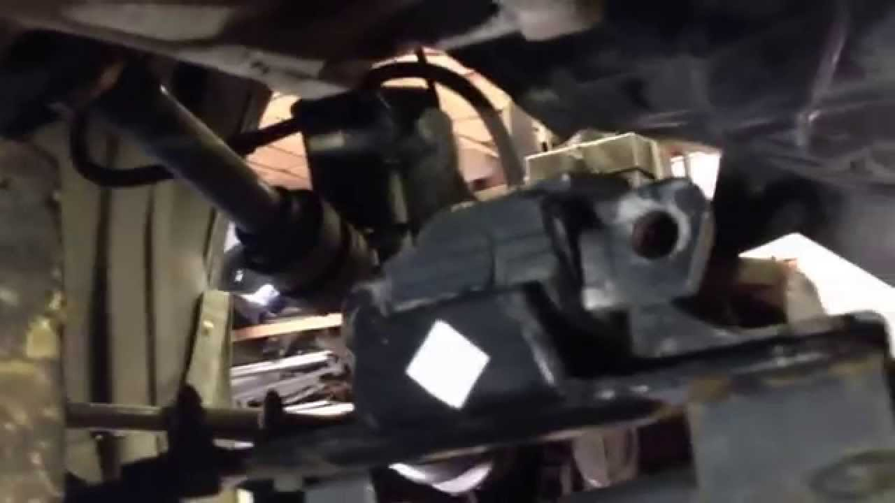 nissan 2 5 engine diagram catholic church structure 2007 quest rear motor mount replacing - youtube