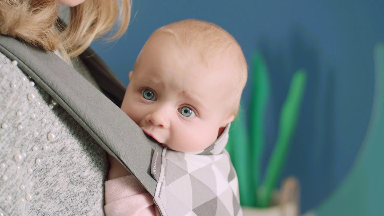 Porte-Bébé ergonomique Kinderkraft NINO - YouTube 12983df4e85