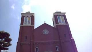 9/18 12:00 浦上天主堂の鐘の音です。