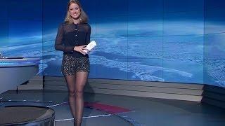 Emma Smetana Beautiful Czech Tv Presenter 13.11.2012