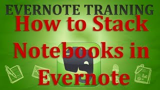 How to Stack Notebooks in Evernote
