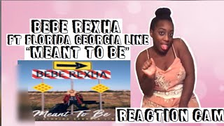 "BEBE REXHA REACTION CAM ""MEANT TO BE"" ft FLORIDA GEORGIA LINE"