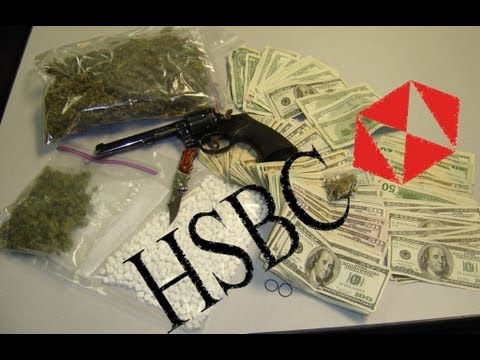 HSBC Launders Money for Drug Cartels, Will Not Be Prosecuted