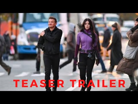 Marvel's Hawkeye Teaser Trailer #1 | 2021 disney plus