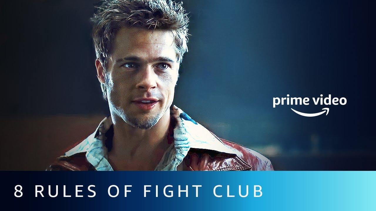8 Rules Of A Fight Club | Brad Pitt | Amazon Prime Video #shorts
