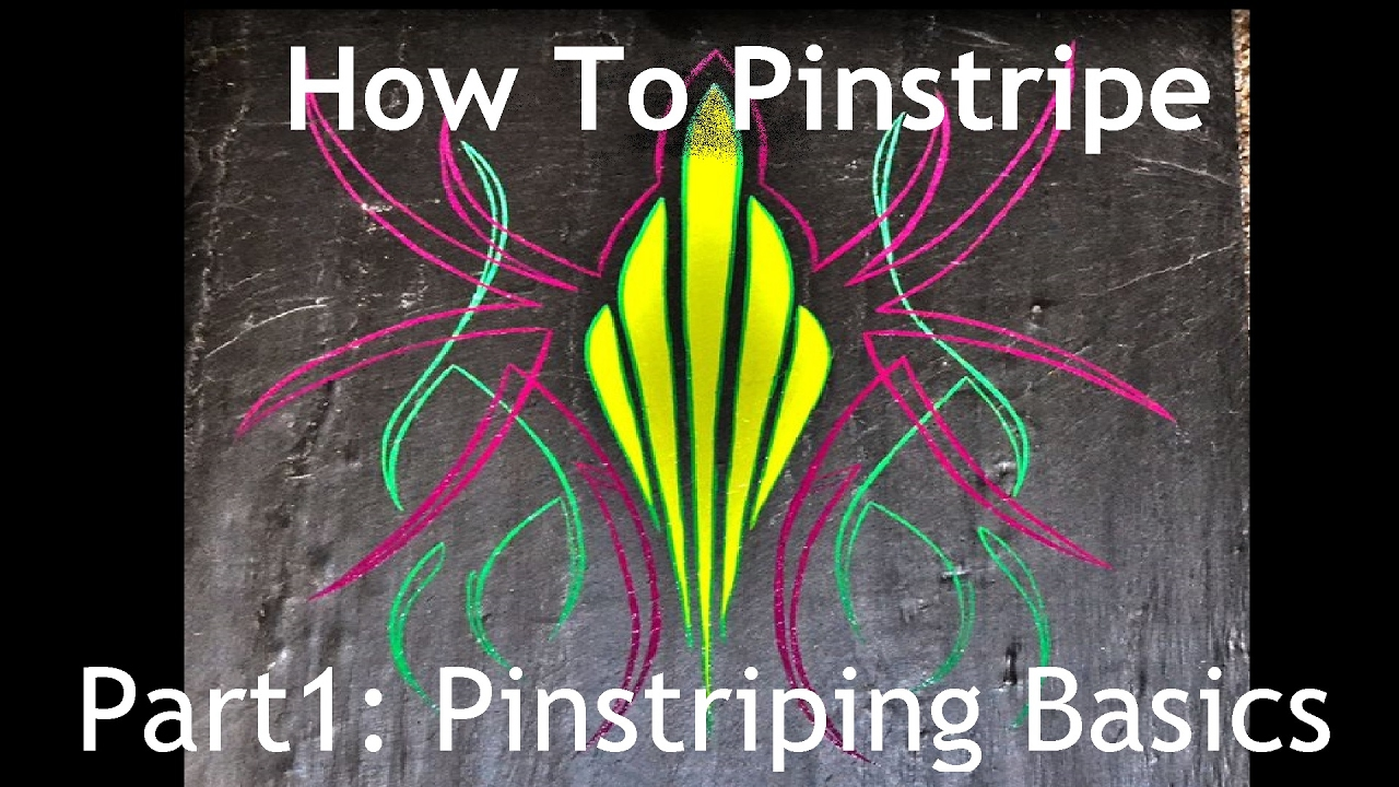 Cambridge Pinstriping Tutorial Part 1 The Basics Of Pinstriping How To Pinstripe Youtube
