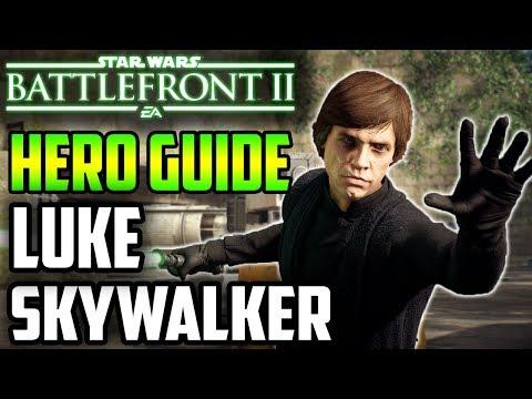 2019 Complete Luke Skywalker Hero Guide! Star Wars Battlefront 2 thumbnail