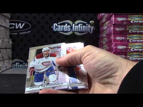 Ronnie's 2013/14 Prizm Hockey Box Break