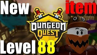 The Underworld New item level 88 Dungeon Quest Roblox Francais