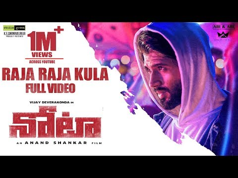 Raja Raja Kula Full Video Song - Nota Telugu Video Songs | Vijay Devarakonda | Sam C.S|Anand Shankar