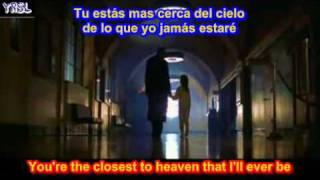 Goo Goo Dolls - Iris - City of Angels ( SUBTITULADA ESPAÑOL INGLES )