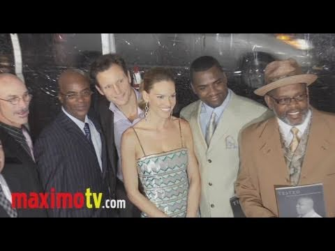 CONVICTION Premiere Arrivals Hilary Swank Juliette Lewis Minnie Driver