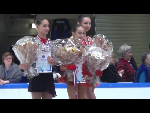 Alina Zagitova Junior Nationals 2017 VC