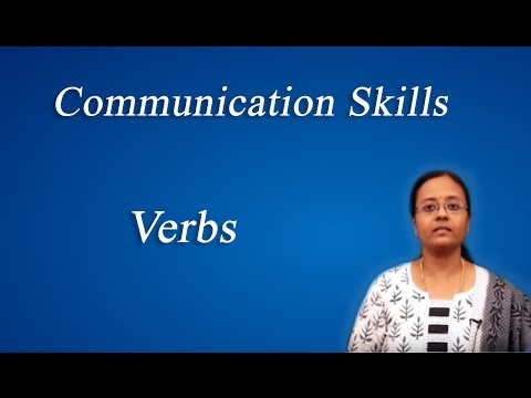 Verbs :Best English grammar & Communication skills tips - by Mrs. Vennila Sathyamoorthi