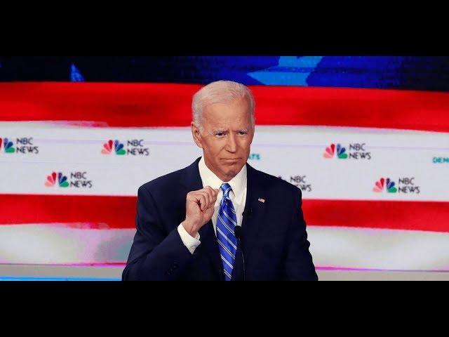 Biden's Hilarious & Awful Question Dodge At Dem Debate