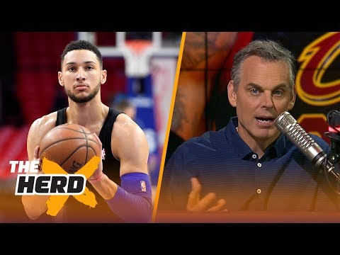 Colin Cowherd on potential dynasties in the NBA and the 2018 NBA ROY award | NBA | THE HERD
