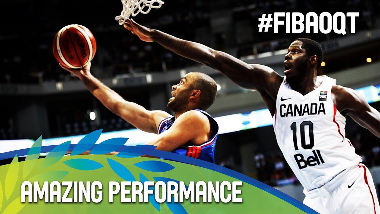 Tony Parker's amazing performance against Canada