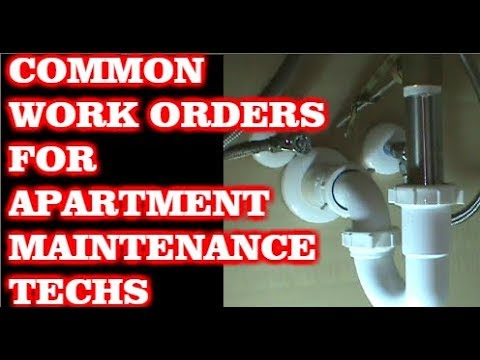 Common Work Orders In Apartment Maintenance