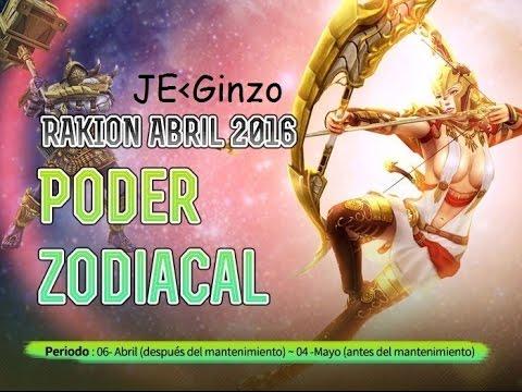 Rakion Evento Abril 2016 Nuevos: Mapa y Set Zodiaco