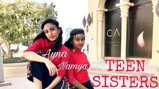 Havana   Jingle Bells (Remix)   Manma Emotion Jaage- (Self Choreography) Dance by TEEN SISTERS 2018