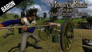 Mount And Blade Napoleonic Wars - Fun with Artillery, Cannons and Rockets!