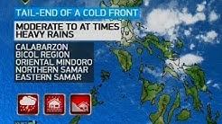 PAGASA: Tail-end ng cold front at easterlies, magpapaulan sa maraming lugar sa bansa bukas