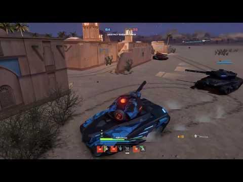 Tanki X Arabian Night TDM Railgun Hornet